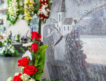 Gravure monument funéraire